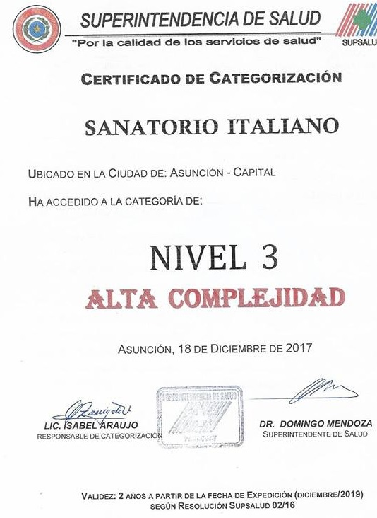 Sanatorio Italiano Alta Complejidad 2